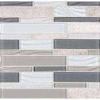 GLSELMLNR-HG - Elume Mosaic - Heather Grey