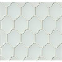 GLSMALWHLPAL - Mallorca Glass Mosaic - White Linen