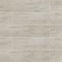 TCRWR29B - River Wood Tile - Blanc
