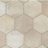 AGONATIVOHEX13 - Native Tile - Ivory