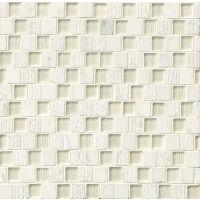GLSTESWHIOBPB - Tessuto Mosaic - White