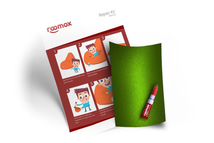 Roomox Beanbag Repair Kit