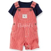 Carters  Boys 2 Piece 4th Of July Short All Set