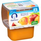 Gerber  Apricots With Mixed Fruit Baby Food