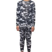32 Degrees Heat Weatherproof Boy Crew Neck Legging Set | Small | Grey Camo