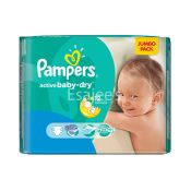 Pampers Active Baby-Dry Large XXL Jumbo Pack Size 6
