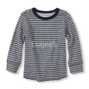 The Childrens Place Boy Long Sleeve Striped Shirt Tidal