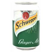 Schweppes Soft Drink Ginger Ale Tonic Water