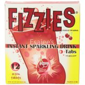 Fizzies Sparkling Drink Tablets Cherry