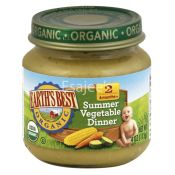 Earths Best Organic Stage 2 Delicious Din Din Summer Vegetable Dinner Baby Food
