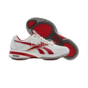 Reebok Women's Easytone Reeinspire II Walking White Red Gray - US 8.5