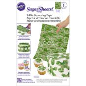 Wilton  7102910 Camouflage Sugar Sheets For Food Decorating Tool