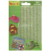 "Makin's Clay Texture Sheets 7""X5-1/2"" 4/Pkg-Set"