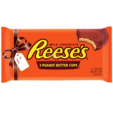 Reeses   Milk Chocolate 2 Peanut Butter Cups 1lb 453g