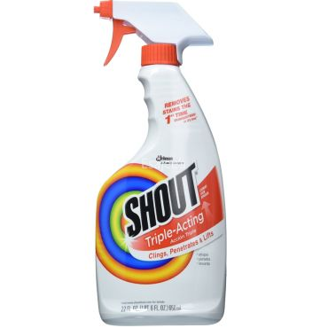 Shout  Stains Removes