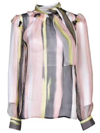 Marcobologna Lace-up Front Blouse