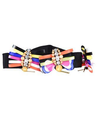 Marco Bologna Embellished Butterfly Belt