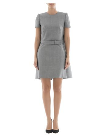 Grey Wool Dress
