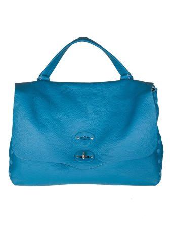 Zanellato Postina M Cachemira Pure In Color Ottanio Leather