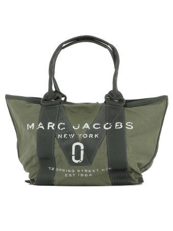 Green Military Fabric Shoulder Bag
