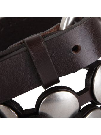Orciani Leather Beltbull