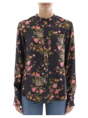 Black Silk Sweatshirt