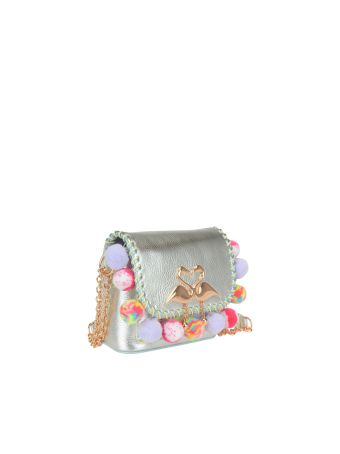 Sophia Webster Claudie Pom Pom Bag