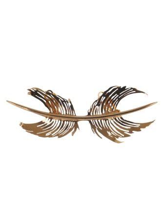Paco Rabanne Feather Earring
