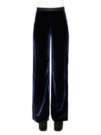T By Alexander Wang Velvet Trousers