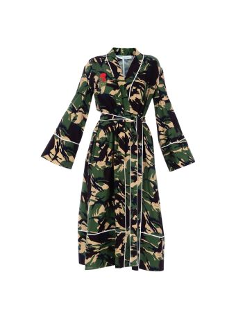 Green Camo Pajama Robe