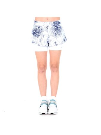 Run 2 In 1 Printed Shorts