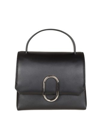Phillip Lim Alix Mini Top Handle Satchel Leather Color Black