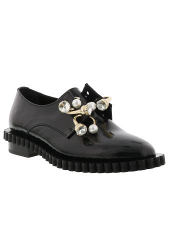 Coliac Cake Laced Up Shoes