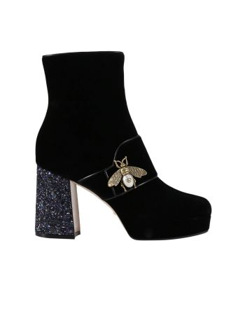 Heeled Booties Shoes Women Gucci