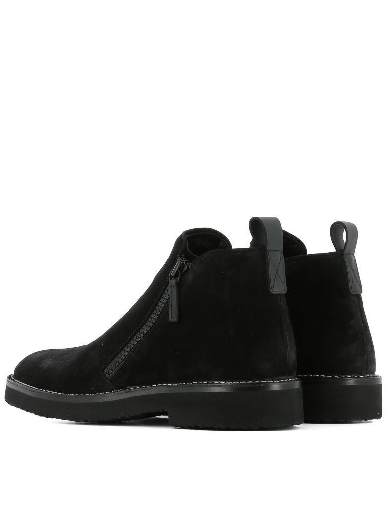 giuseppe zanotti black suede ankle boots modesens