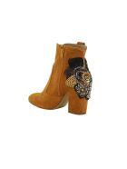 Elena Iachi Crystal Embellished Ankle Boots