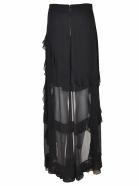 Alice + Olivia Ruffled Asymmetric Skirt