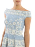 Alexander Mcqueen Floral Jacquard Mini Dress