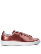Adidas Originals Stan Smith Boost Pink Gold Laminated Leather Sneaker