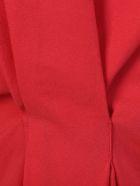 Red Mixed Silk Tank Top
