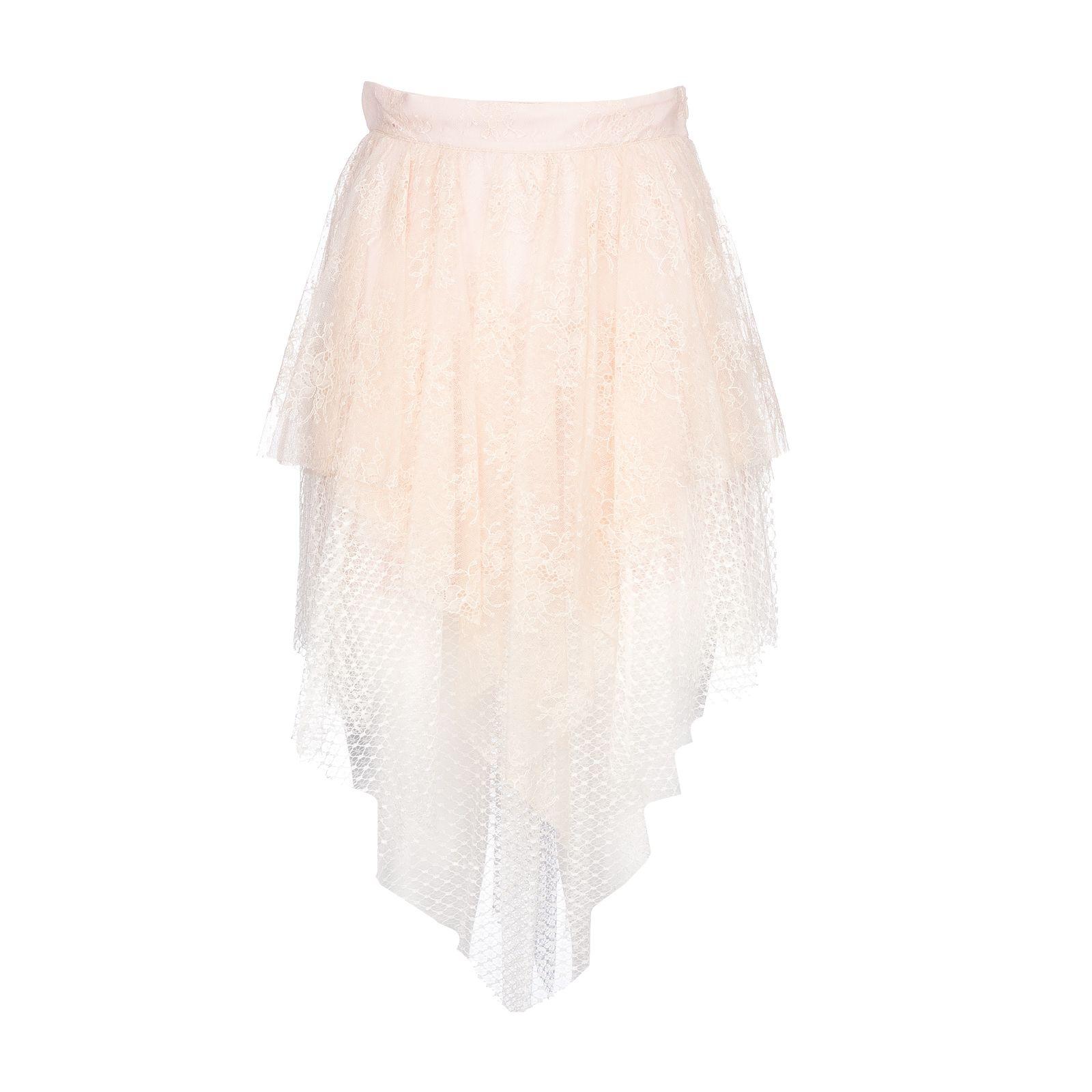 Philosophy Di Lorenzo Serafini Asymmetric Lace Skirt