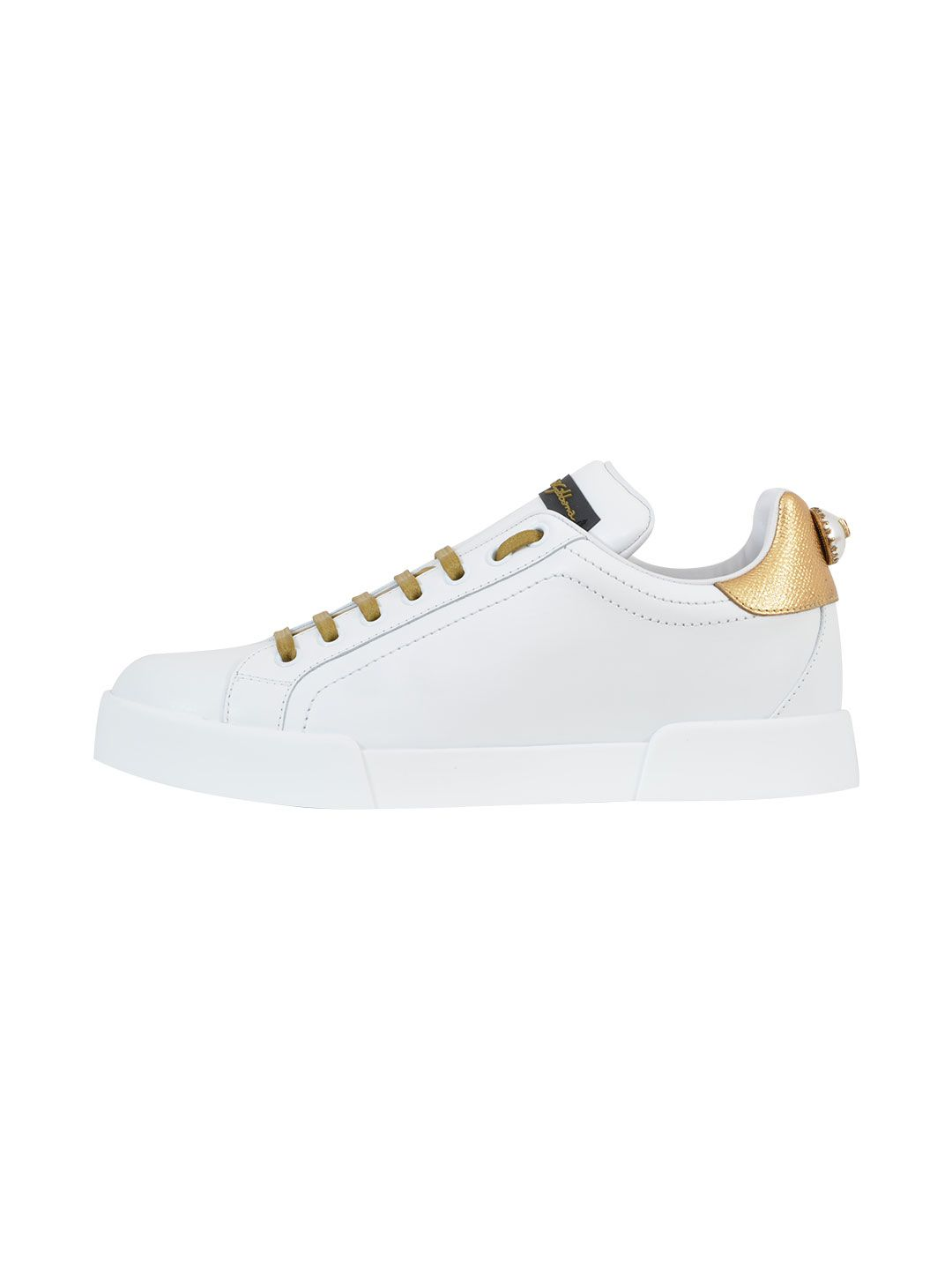 Dolce & Gabbana Sneaker With Pearl