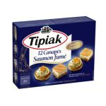 Tipiak- 12 French salmon canapes