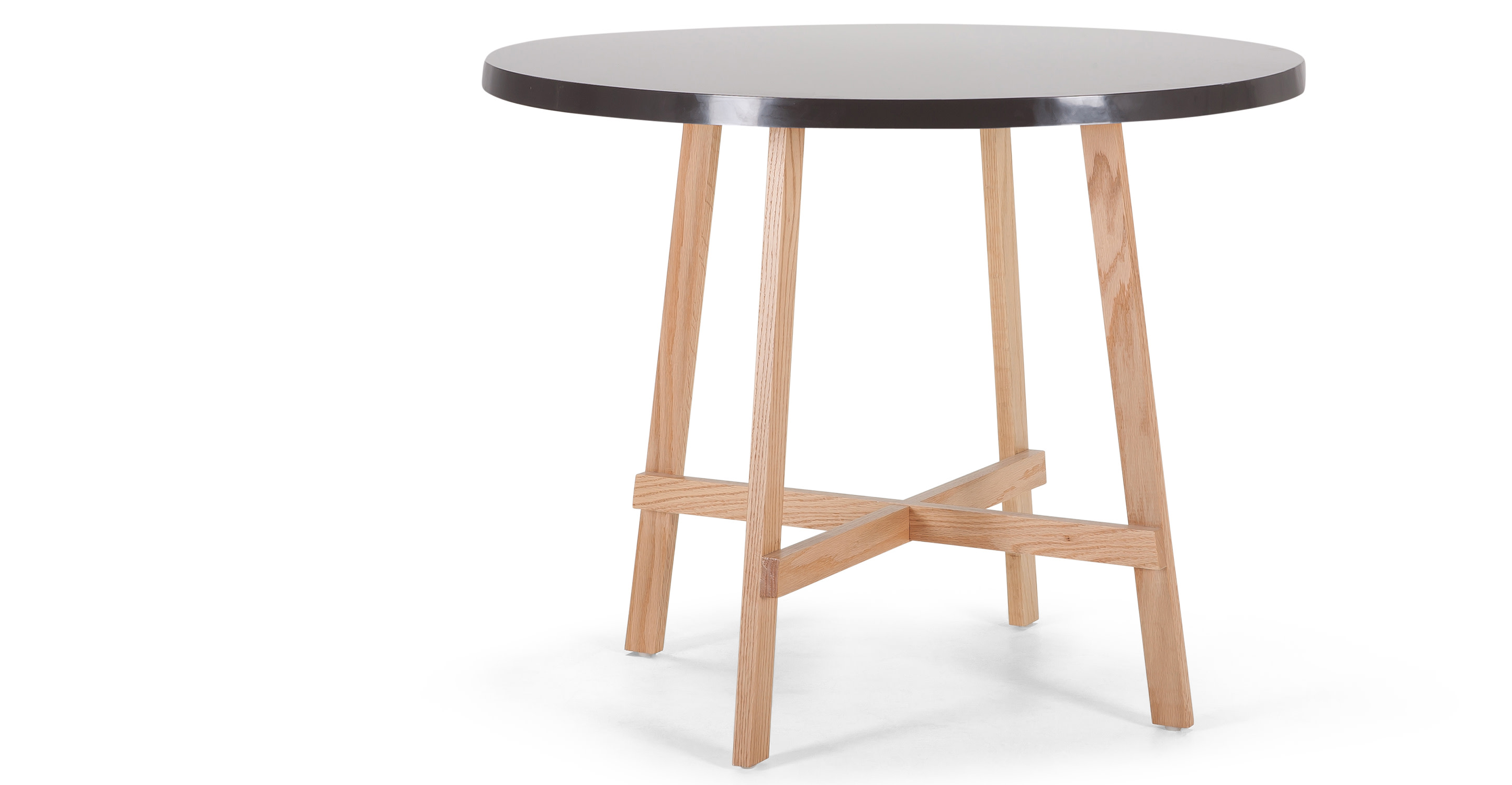Spun Round Dining Table in natural ash and black madecom : spundiningtableblacklb11 from www.made.com size 2889 x 1500 jpeg 207kB