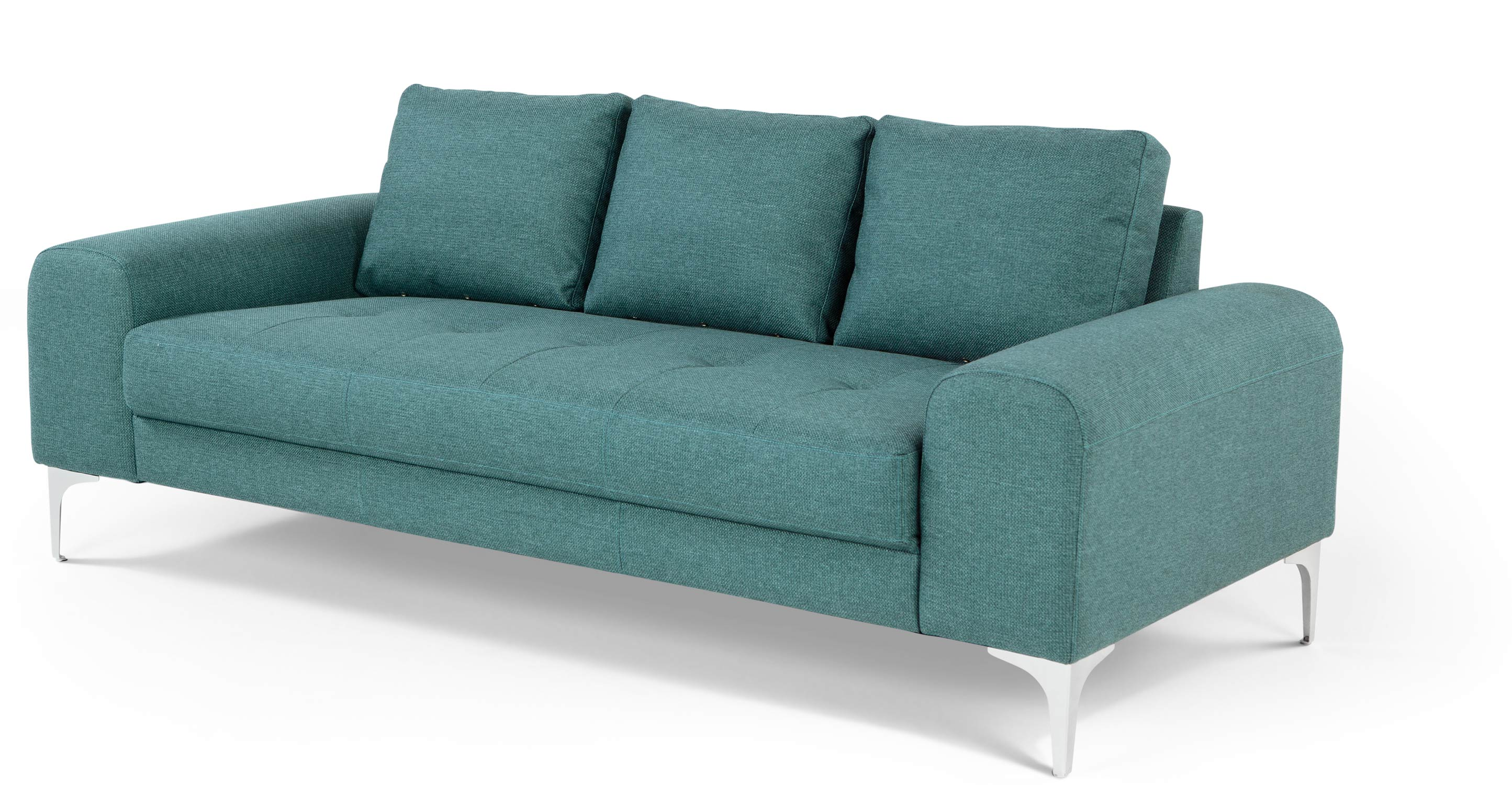 Vittorio 3 Seater Sofa Teal