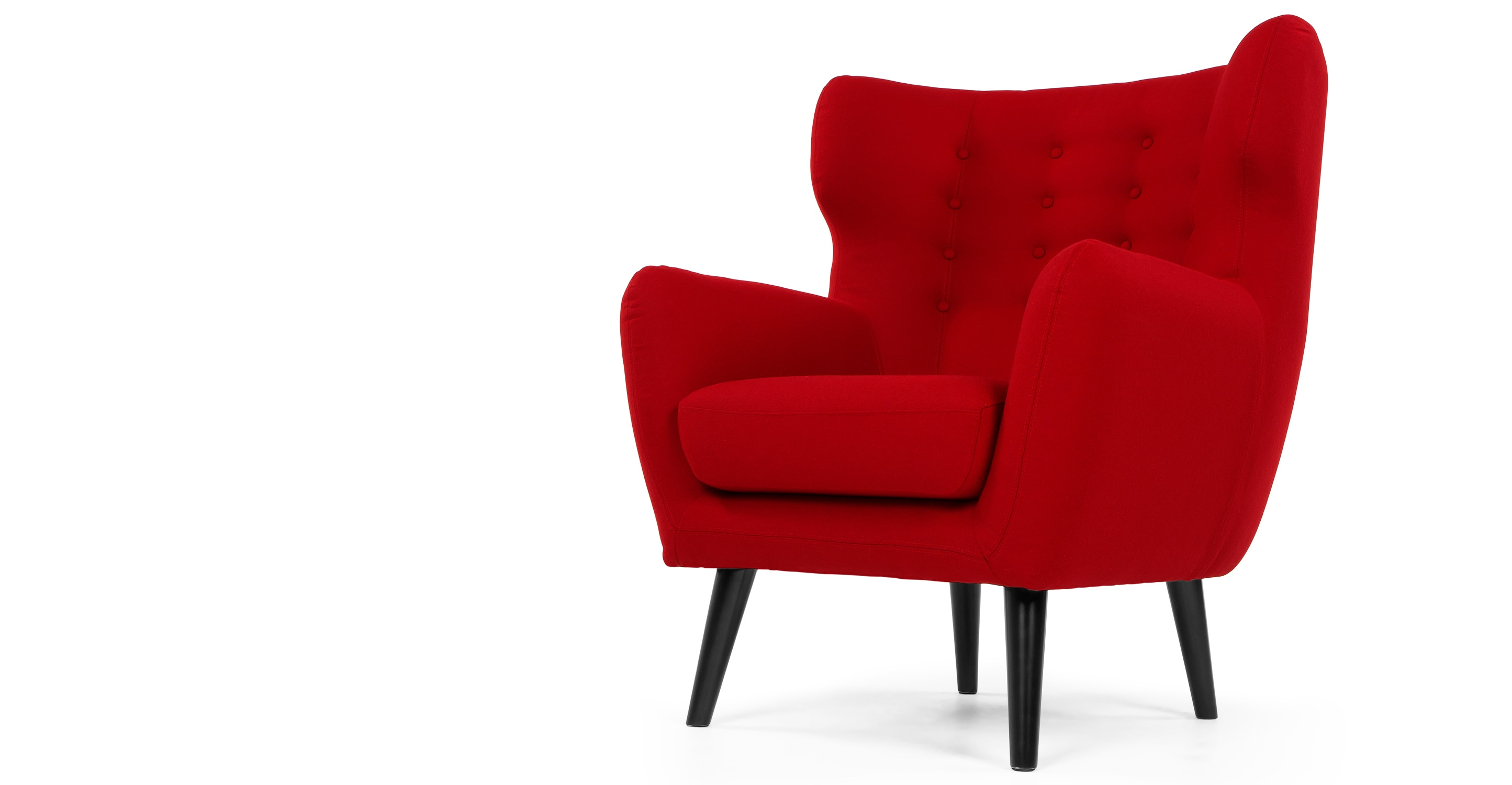 kubrick un fauteuil berg re rose rouge. Black Bedroom Furniture Sets. Home Design Ideas