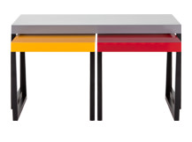 Mondrian Large Coffee Table Set, Multicolour