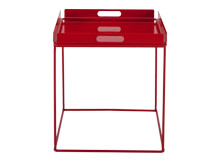 Mondrian Tray Table, Red