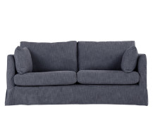 Antibes Loose Cover 3 Seater Sofa, Denim