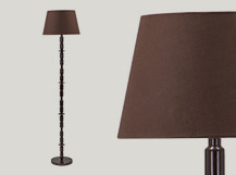 Bailey Floor Lamp, Brown